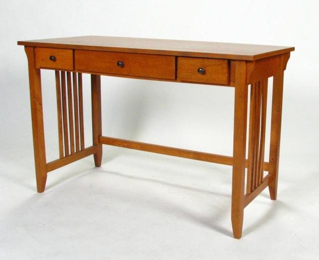 Contemporary Mission Style puter Desk