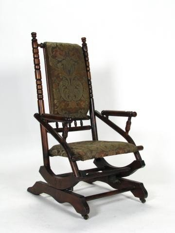 Enjoyable 388 Antique Platform Rocking Chair Gmtry Best Dining Table And Chair Ideas Images Gmtryco