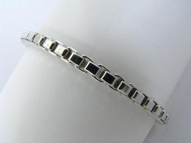 763: Sterling Silver Box Chain by Tiffany & Co.
