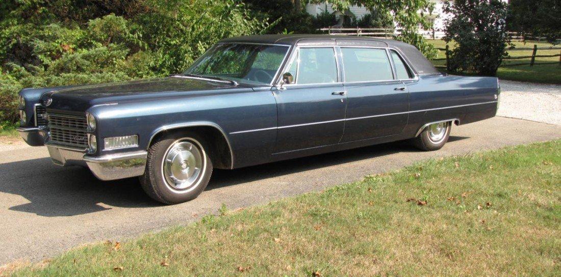 1: 1966 Cadillac Fleetwood 75 Limousine, 37K Miles