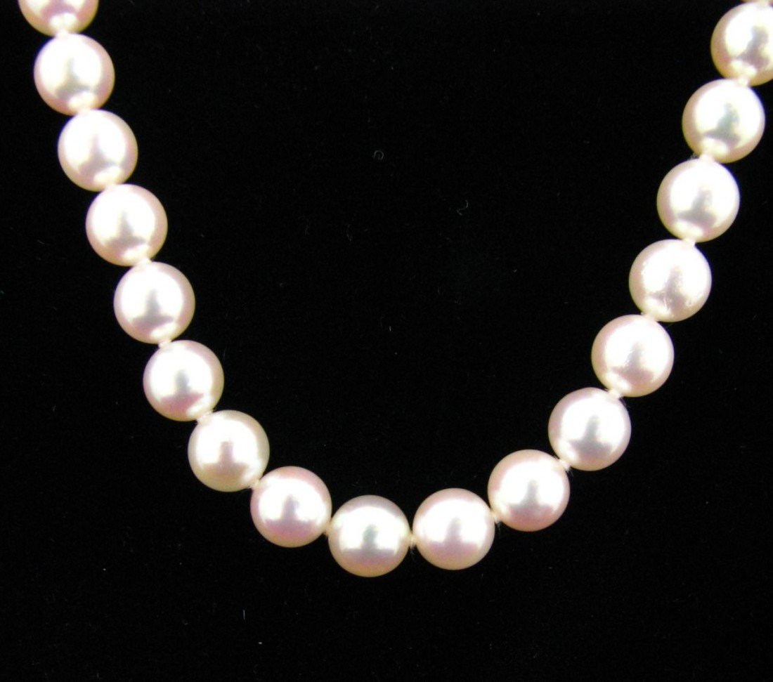 6: Mikimoto Blue Lagoon Pearl Necklace