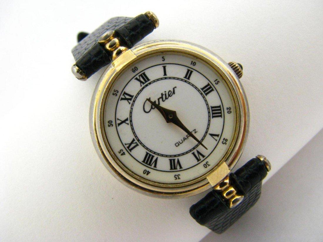 23: Lady's Cartier Wrist Watch