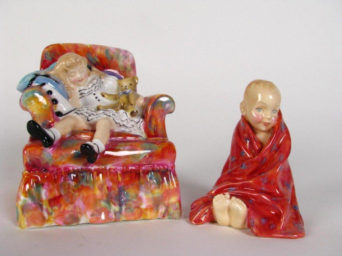 218: Two, Royal Doulton Porcelain Figures