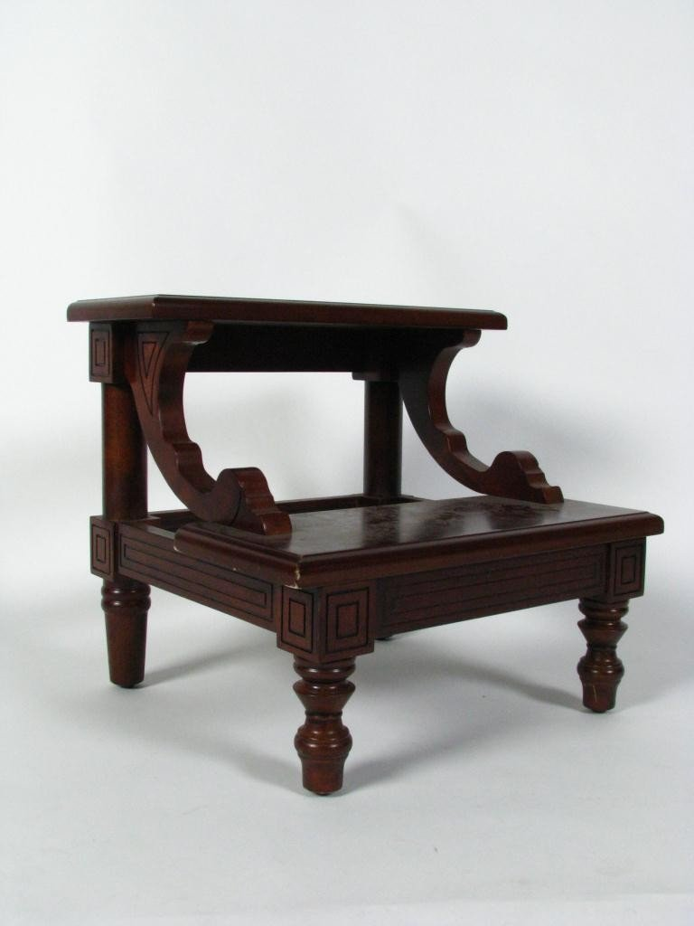Bombay Co Mahogany Bed Step