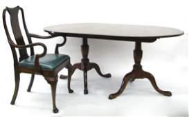 Kittinger 'Charterhouse' Dining Table,  Six Chairs