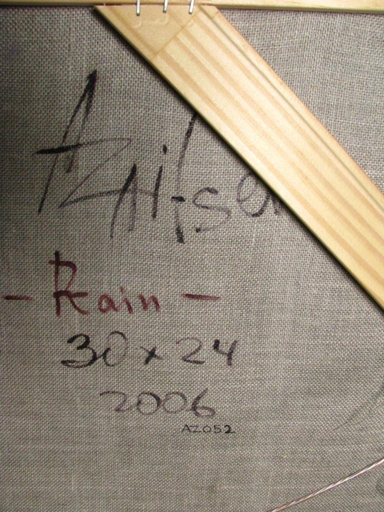 459: Alexi Zaitsev 30x24 oil on canvas 'Rain' - 4