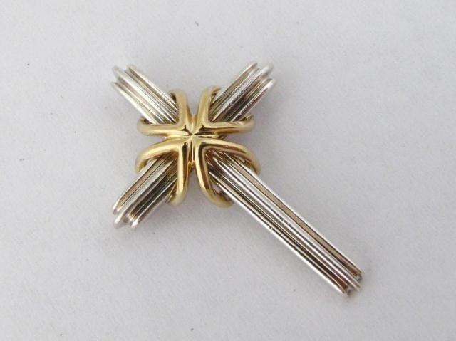 14: Tiffany & Co. Sterling Cross Pendant