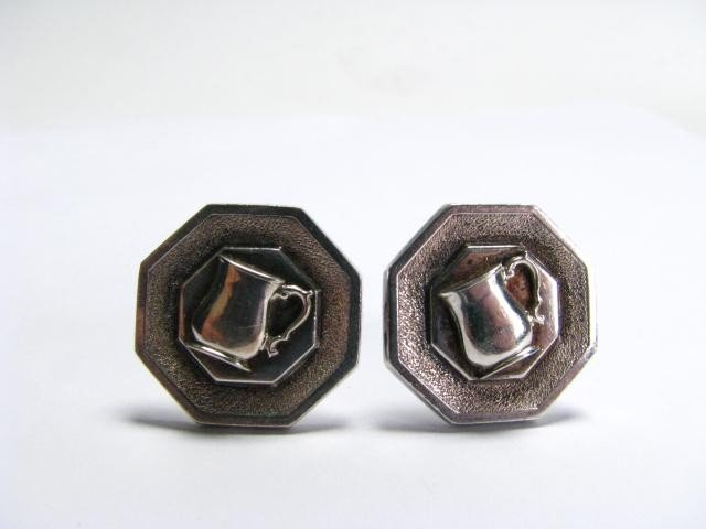 602A: Pair of Tiffany Cuff Links