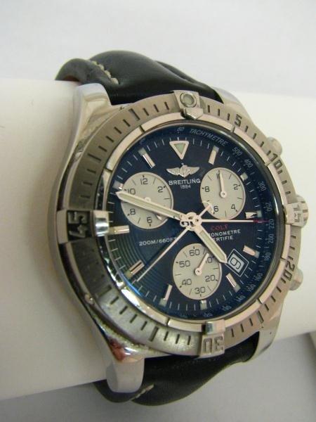 611: Gents Breitling Chrono Colt Wristwatch MIB