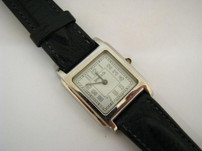 612: Lady's Tiffany & Co. Stainless Wristwatch
