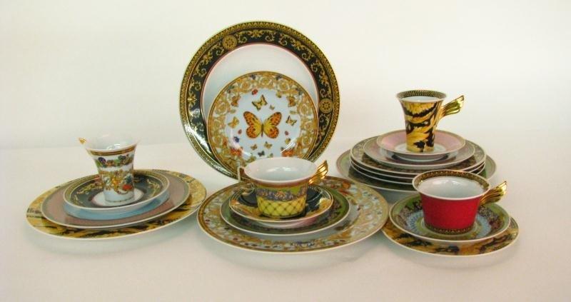 676A: Rosenthal Versace Russian Dream Porcelain