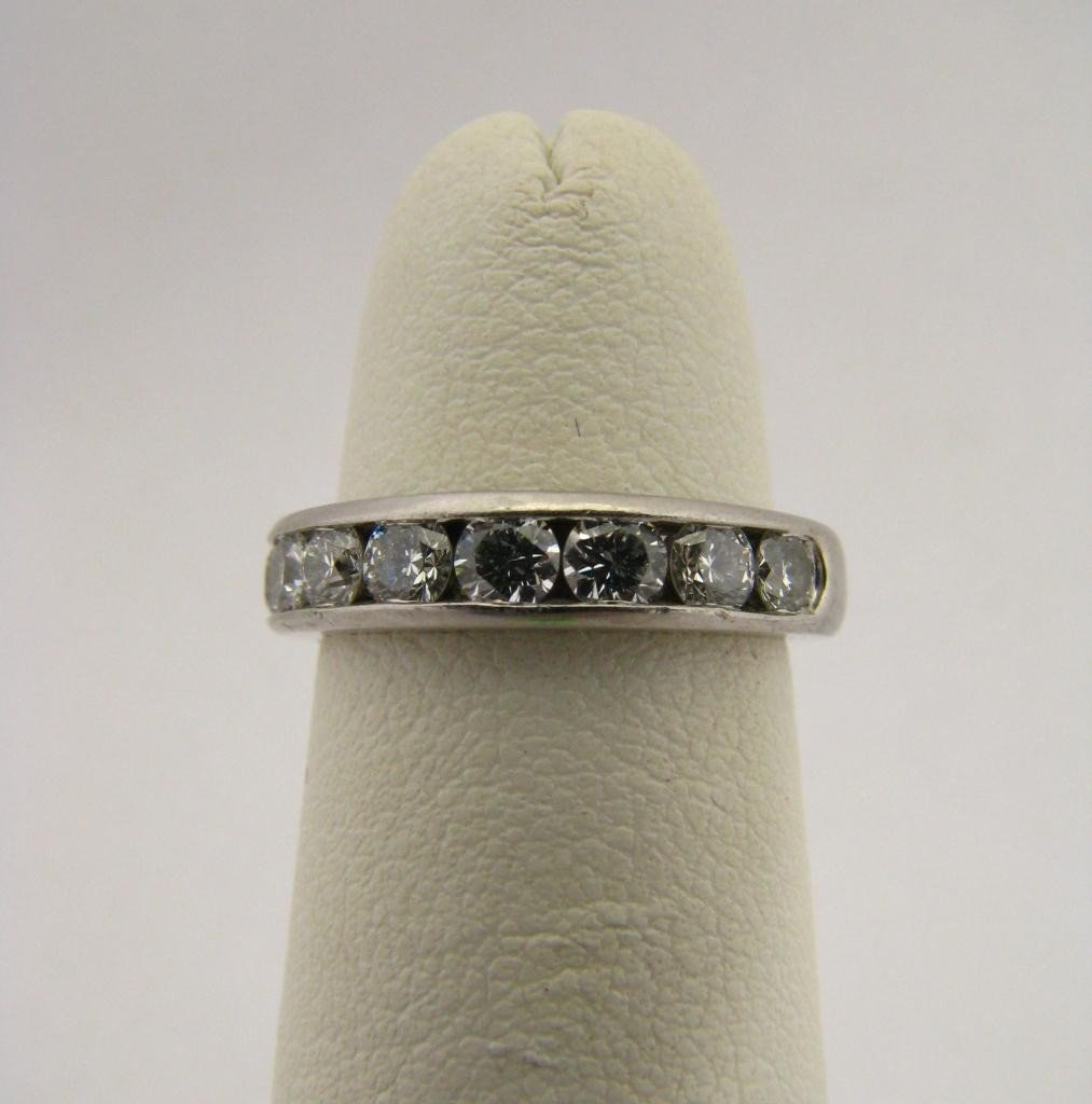502: A Tiffany & Co. Platinum Diamond Band