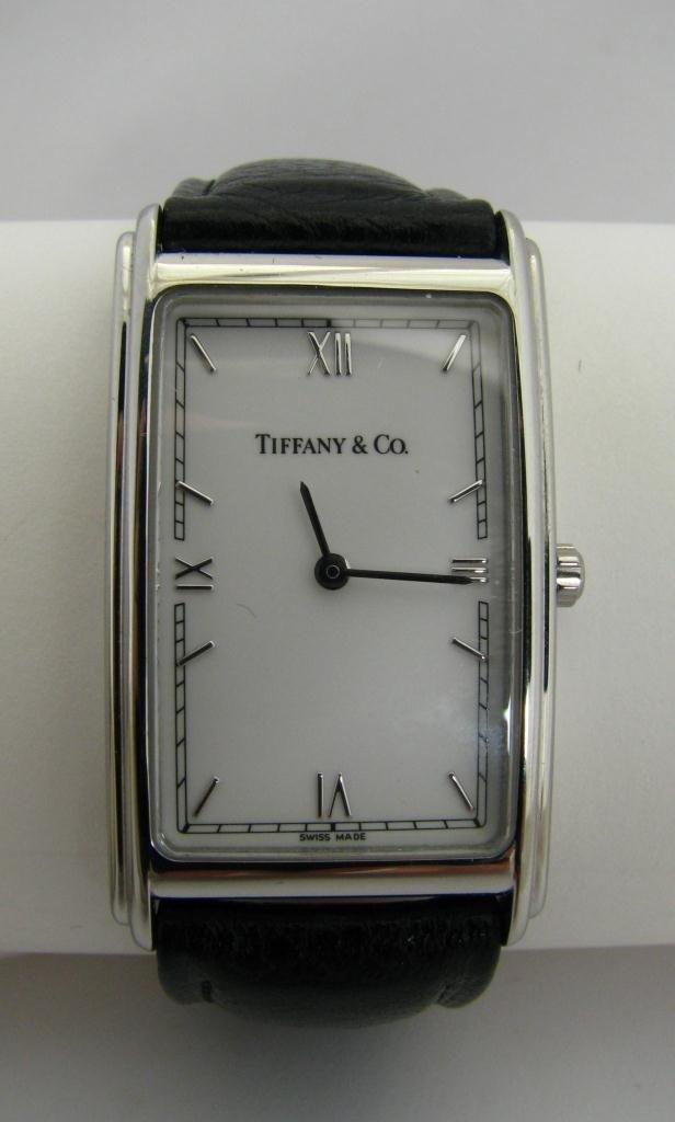 503: A Tiffany & Co. Gents Tank Style Wristwatch