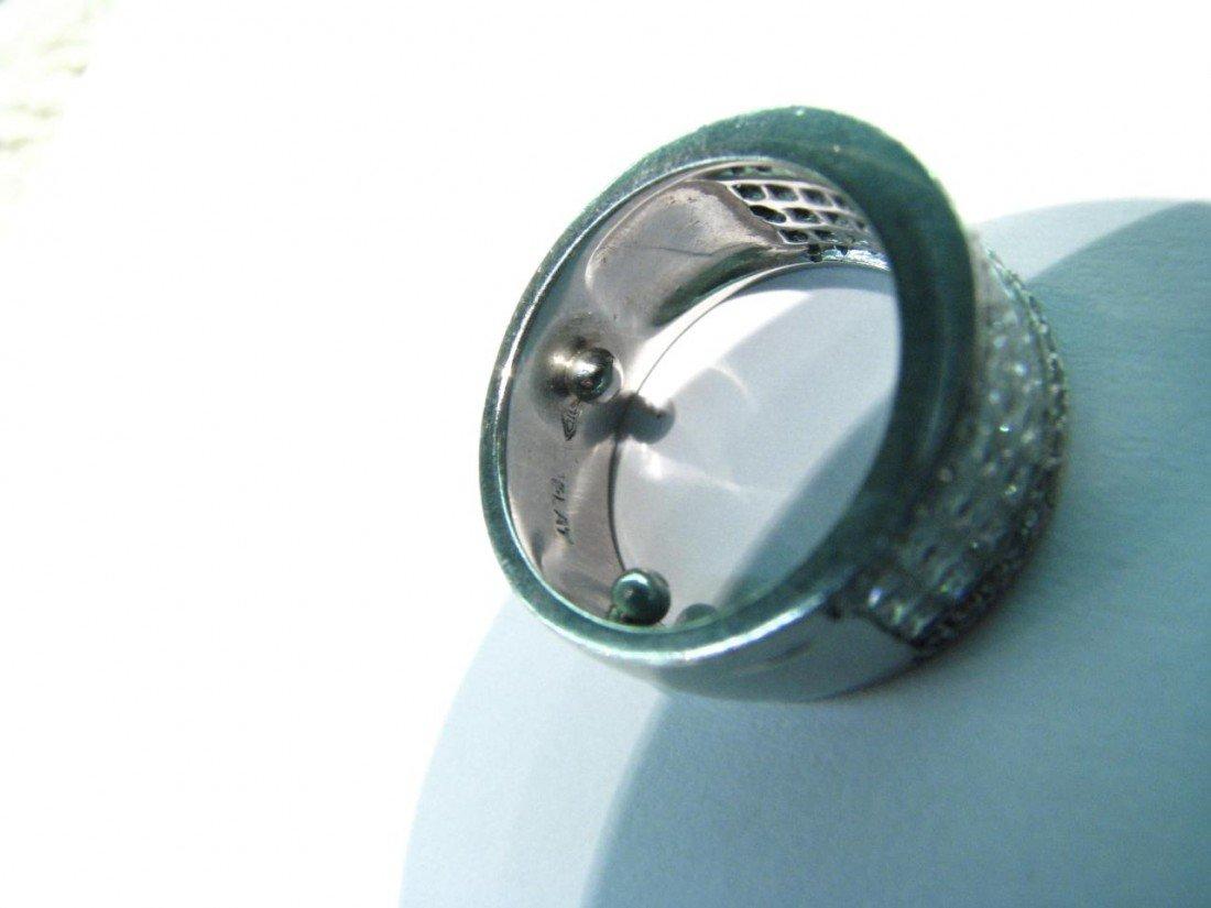 511: Lady's Heavy Platinum 2ct Diamond Ring
