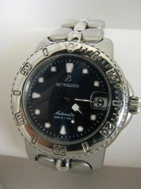 174: Lady's Bertolucci Stainless Wristwatch