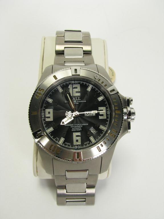 421B: Ball Engineer Hydrocarbon Titanium Wristwatch