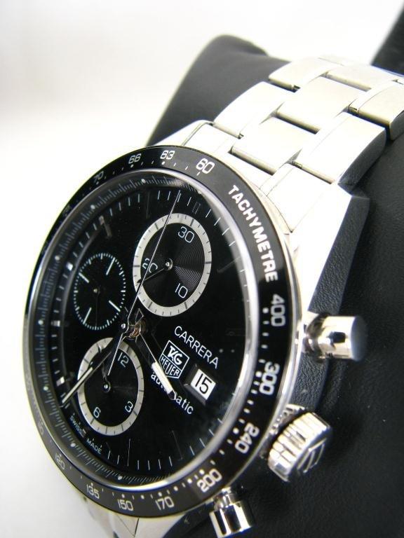 267: Gent's Tag Heuer Carrera Wristwatch with Box
