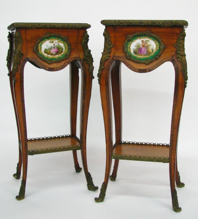 210: Pair of Louis XV Style Jewel Stands