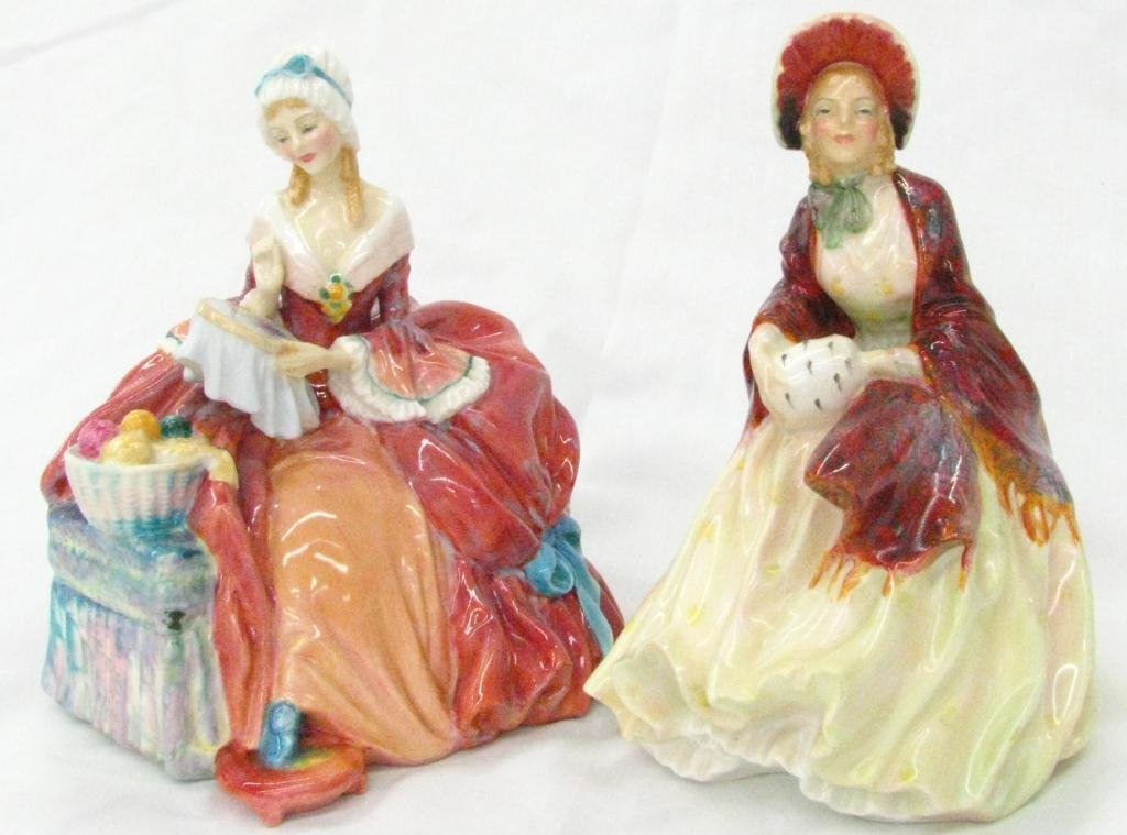 8: Two Royal Doulton Porcelain Figures