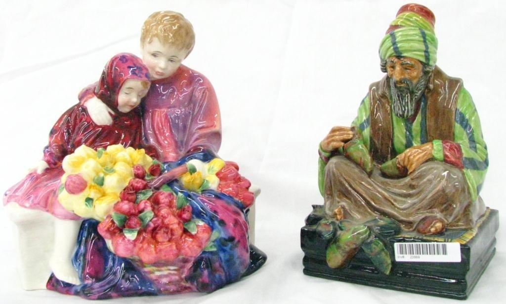 14: Two Royal Doulton Porcelain Figures