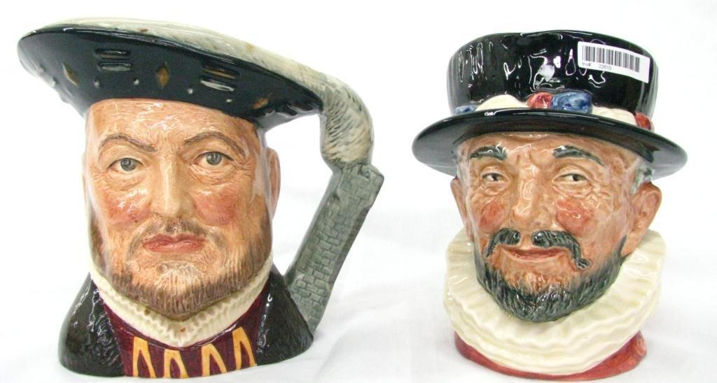 16: Two Royal Doulton Toby Mugs