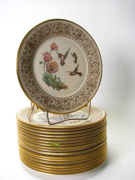 Set of Lenox Limited Edition Boehm Bird Plates