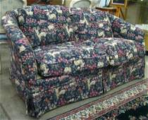 Pair of Hickory Chair Upholstered Love Seats