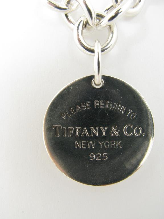 Tiffany & Co. 925 Chain Necklace, Charm