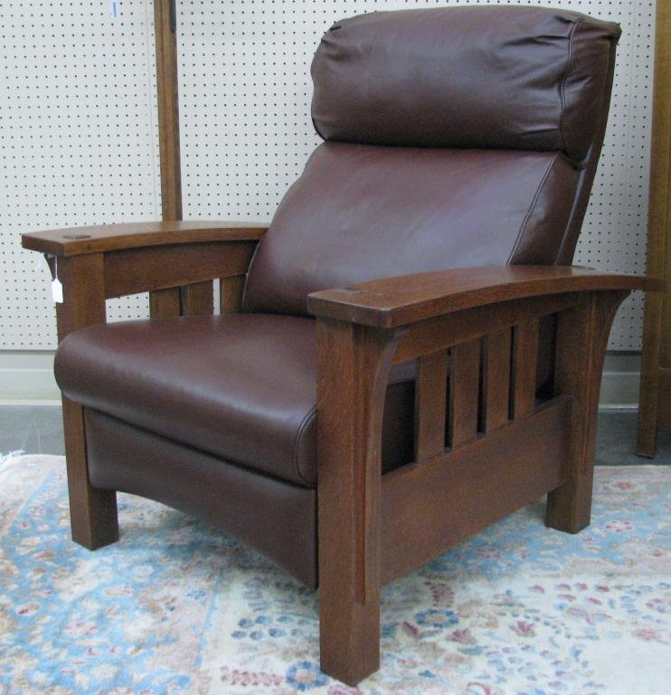 Stickley Furniture Bow Arm Morris Recliner & Furniture Bow Arm Morris Recliner islam-shia.org