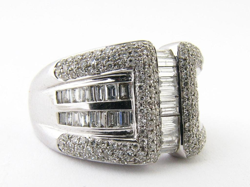 14K White Gold Diamonds De Jour Diamond Ring
