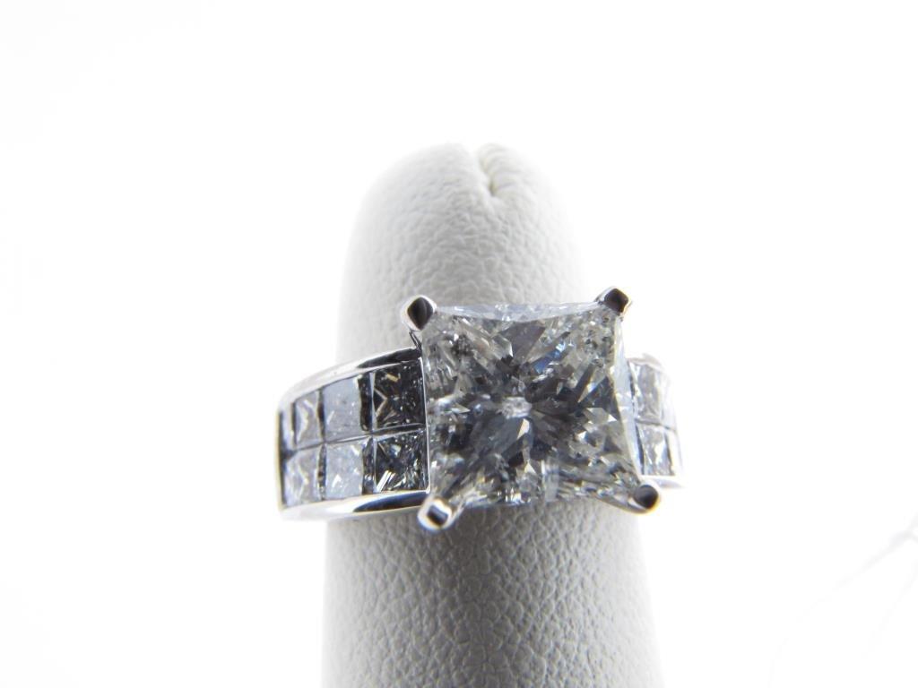 14K White Gold Diamond Ring by Nili