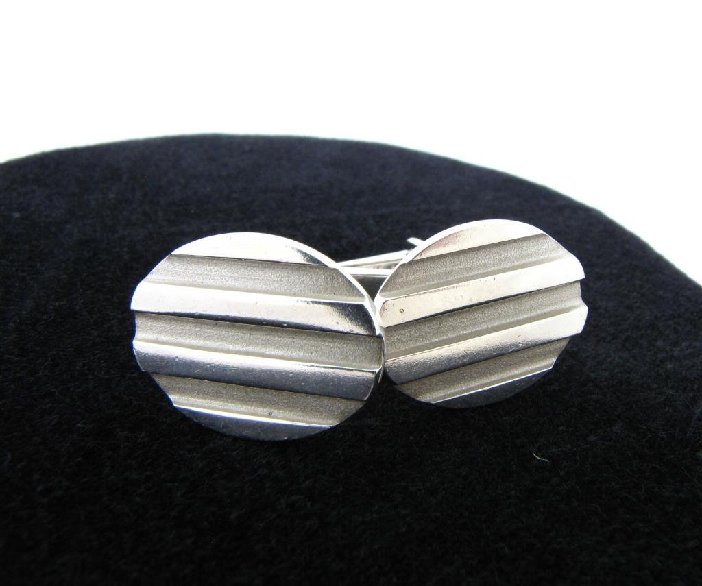 Pair of Tiffany & Co. Sterling Silver Cuff Links