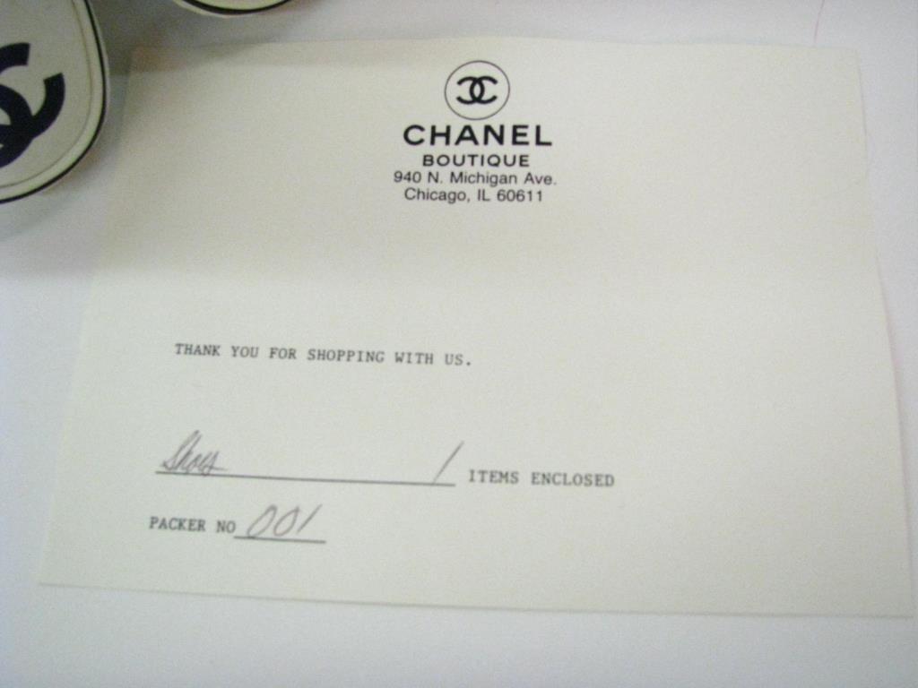 Chanel Vintage Ballet Slipper Style Tennis Shoes - 2