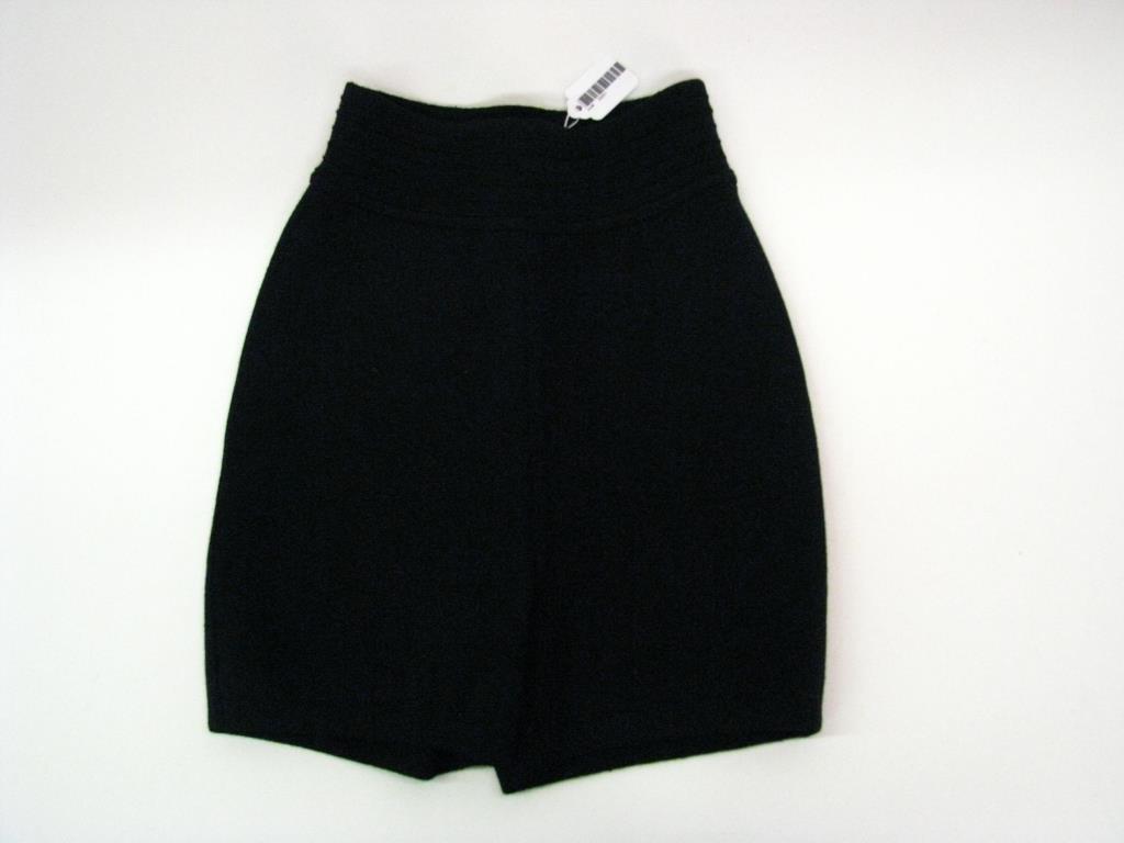 Azzedine Alaia Black Stretch Shorts