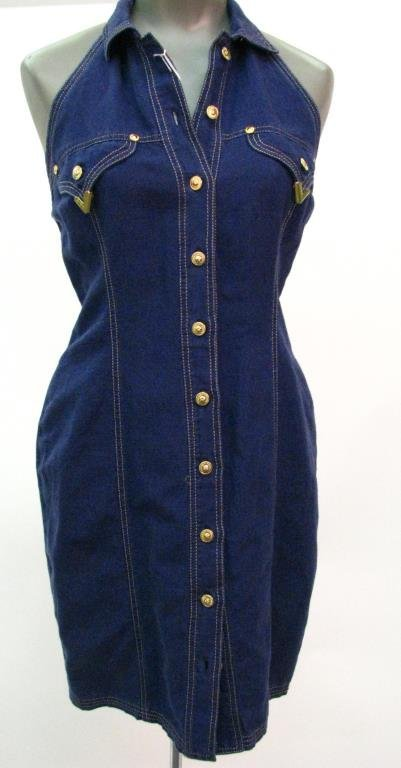 Versace Jeans Couture Halter Dress, Jacket
