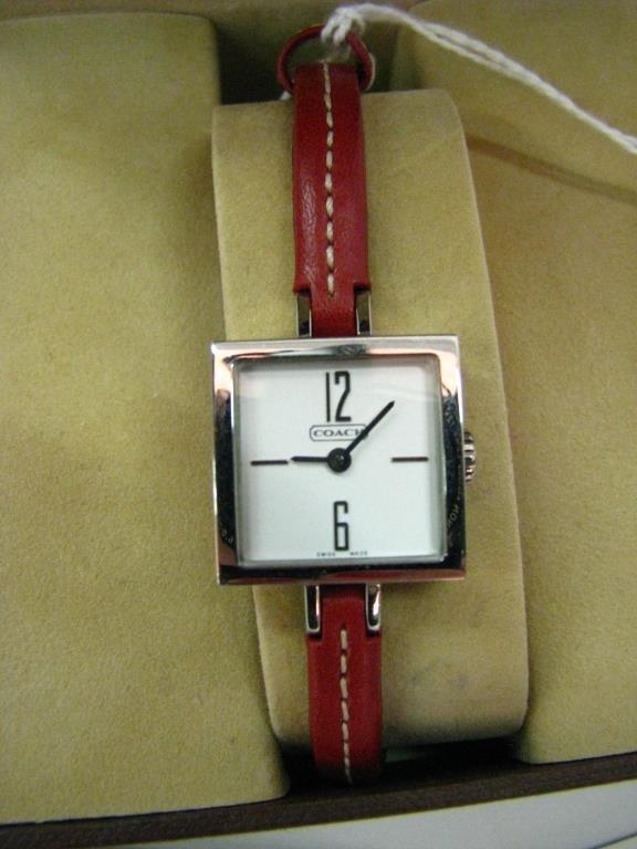 Coach Stainless Steel Wristwatch