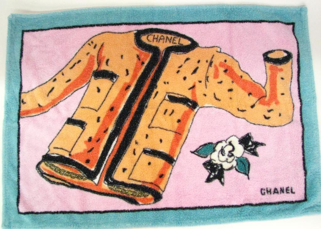 Chanel Vintage Beach Towel