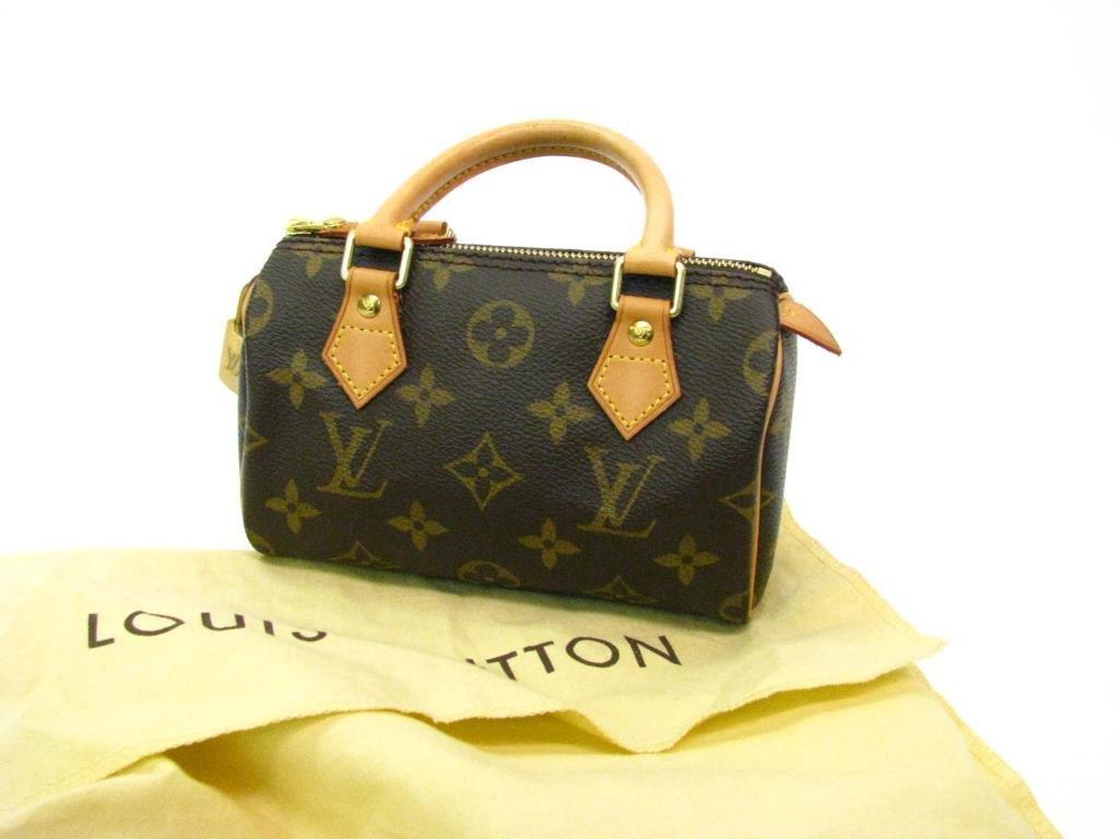 "Louis Vuitton Monogram Canvas ""Mini-Speedy"""