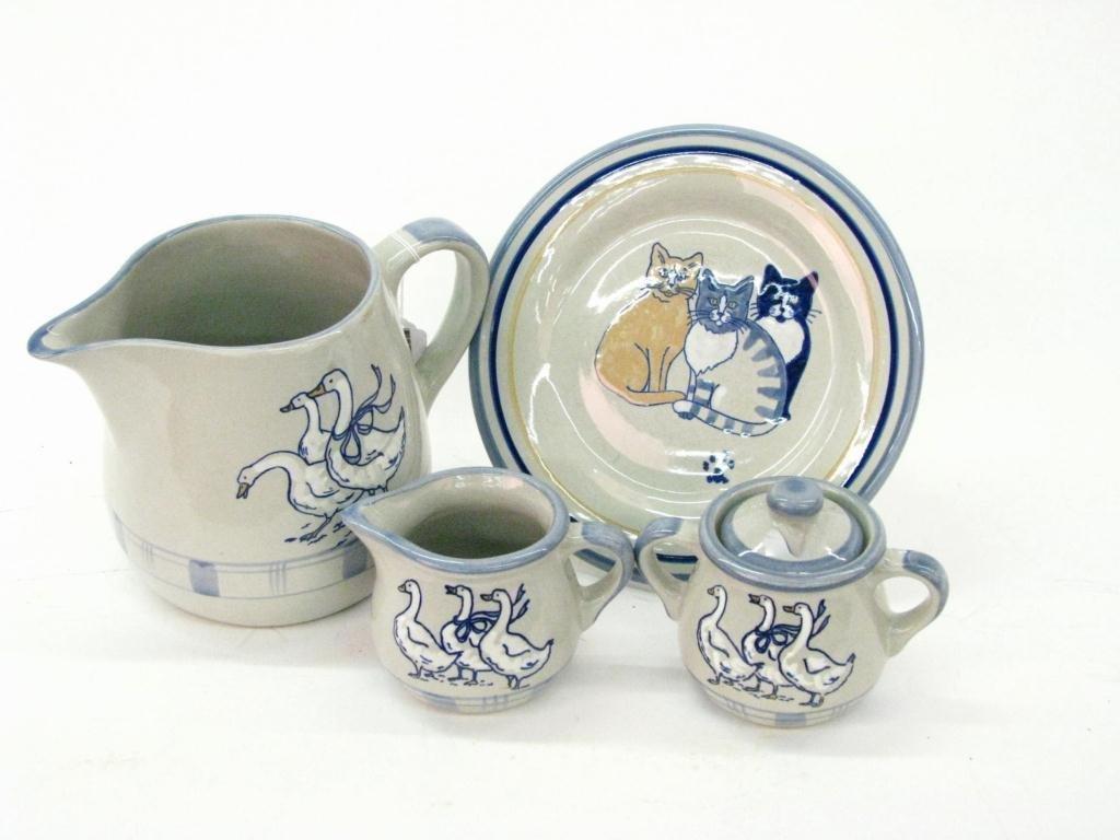 Louisville Stoneware Tea Set