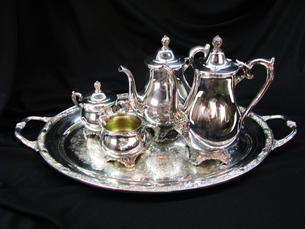 WM. Rogers & Son Tea Service