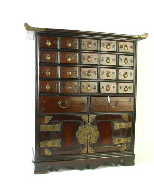 - Vintage Chinese Spice Cabinet