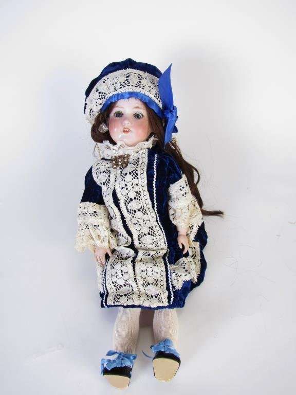 Armand Marseille Jointed Bisque Doll