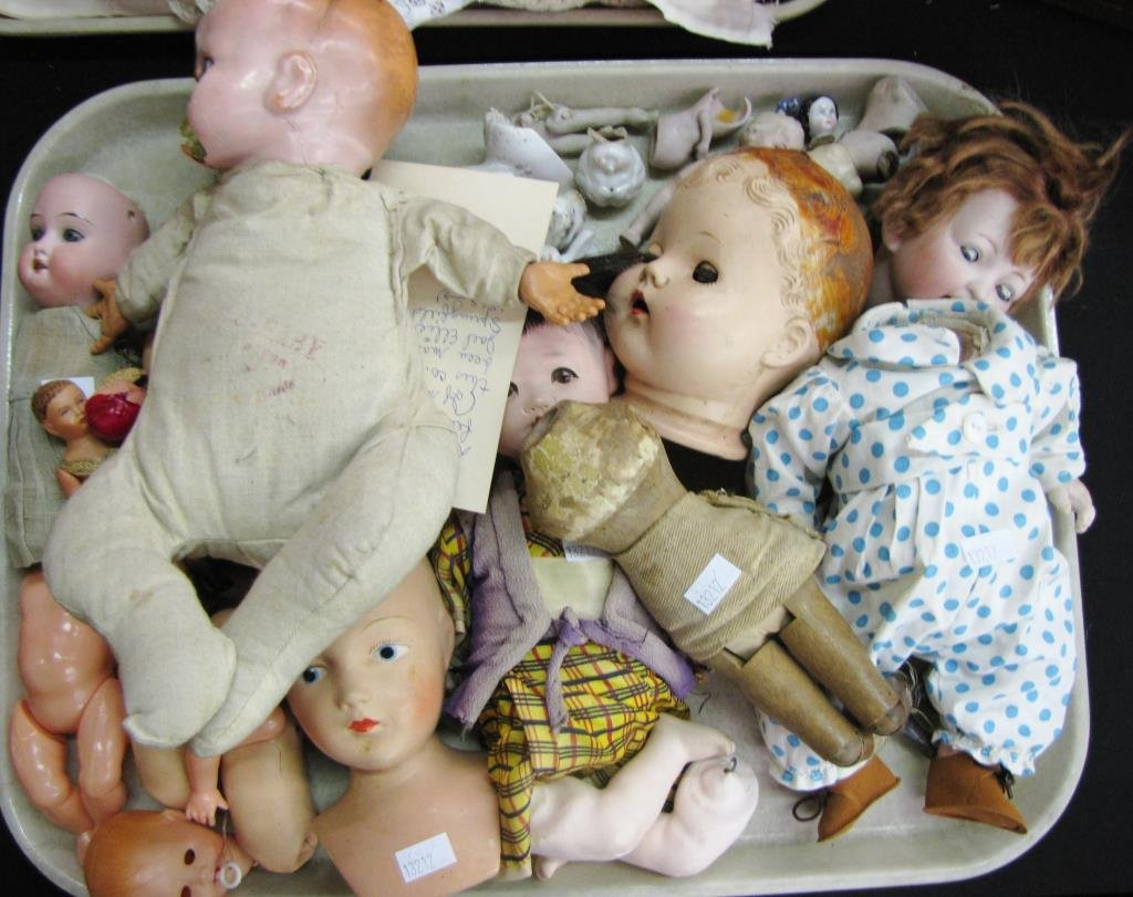 Large Group of Dolls & Accessories
