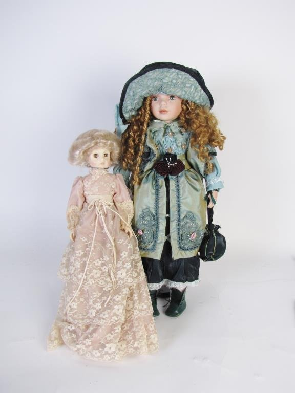 Group of Collectible Dolls