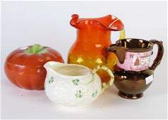 Group of Assorted Decorative Items