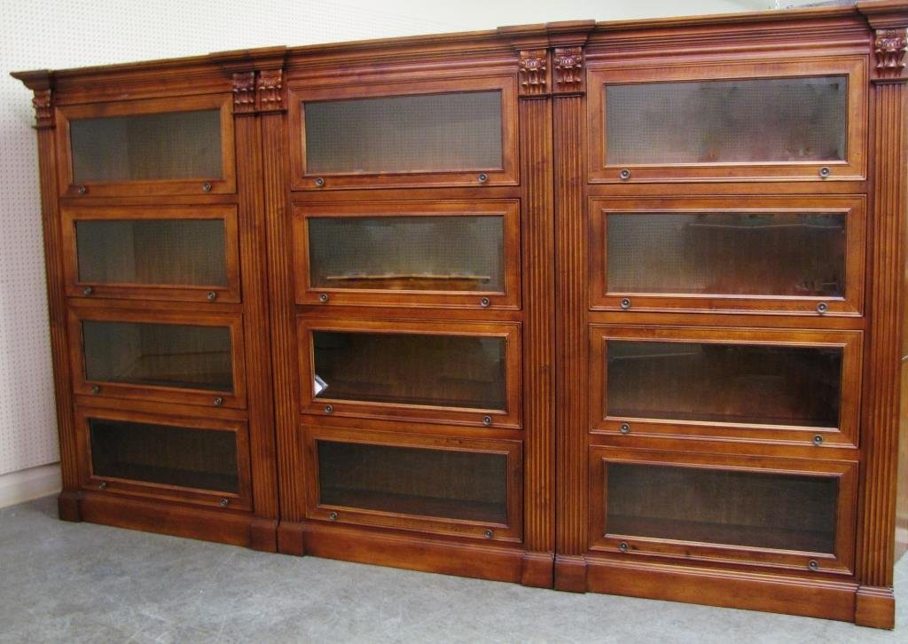Hooker Furniture Three Section Barrister Bookcase