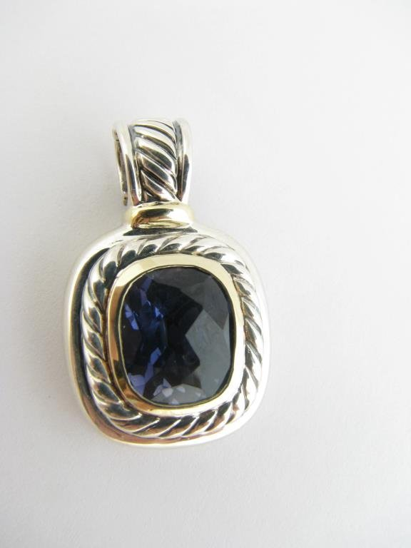 Sterling/14k Gold David Yurman Albion Pendant