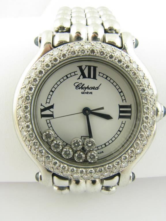 Chopard Happy Sport, Diamond Bezek and 7 Diamonds