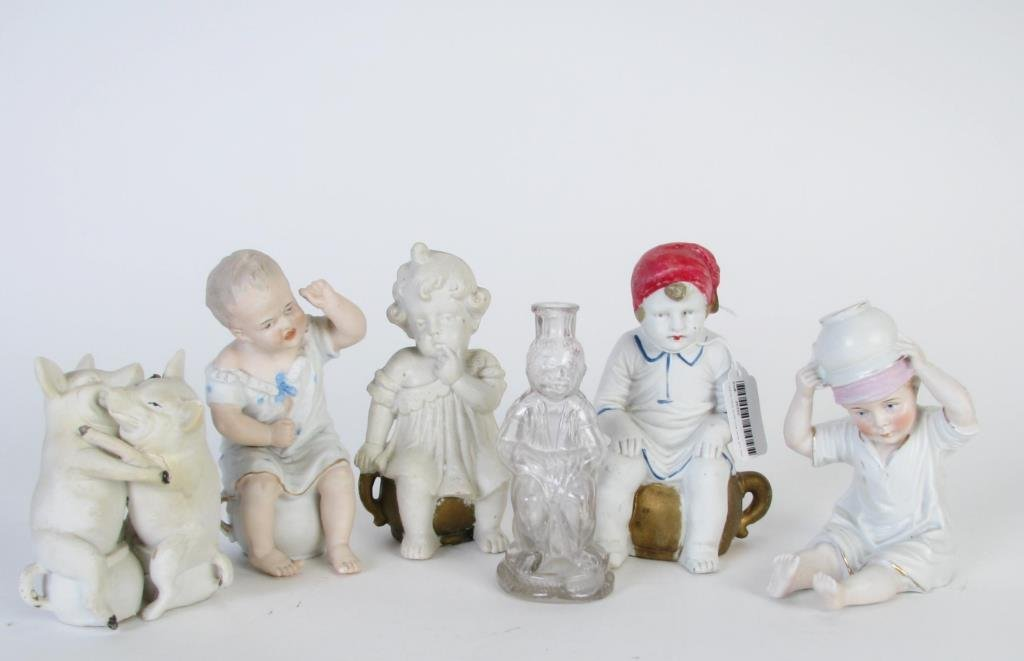 Group of Potty Baby Type Figures