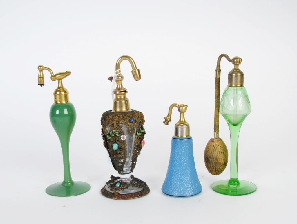 Group of Perfume Atomizer Bottles